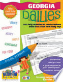 Georgia Dailies: 180 Daily Activities for Kids