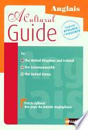 A Cultural Guide - Précis culturel des pays du monde anglophone