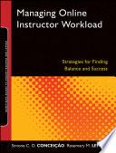 Managing Online Instructor Workload