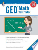 GED   Math Test Tutor  For the New 2014 GED   Test