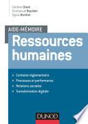Aide mémoire - Ressources humaines