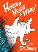 Horton Hears a Who! Book