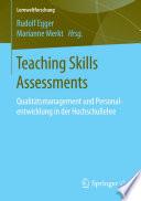 Teaching Skills Assessments