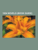 1954 Novels  Book Guide