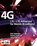 4G  LTE LTE Advanced for Mobile Broadband