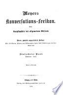 Meyers Konversations-Lexikon