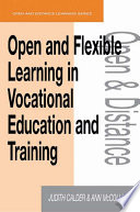 Open and Flexible Learning in Vocational Education and Training