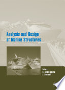 Analysis And Design Of Marine Structures book