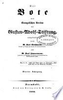 Der Bote des evangelischen Vereins der Gustav-Adolf-Stiftung