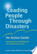 Leading People Through Disasters