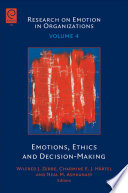 Emotions  Ethics and Decision making