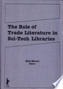The Role of Trade Literature in Sci-tech Libraries