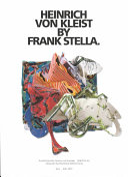 Frank Stella  The writings of Frank Stella