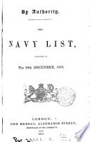 the navy list  corrected to the 20th december 1858