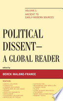 Political Dissent  A Global Reader