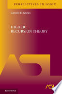 Higher Recursion Theory Book PDF