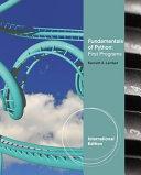 Fundamentals Of Python