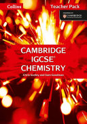 Collins Cambridge Igcse (R) - Chemistry Teacher Pack: Cambridge Igcse (R) [Second Edition]