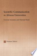Scientific Communication in African Universities