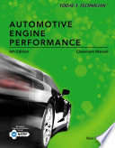 Today s Technician  Automotive Engine Performance  Classroom and Shop Manuals