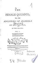 The Female Quixote Or The Adventures Of Arabella