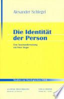Die Identit  t der Person
