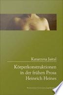 Koperkonstruktionen in Der Frühen Prosa Heinrich Heines