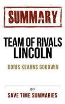 Team of Rivals Lincoln Book PDF