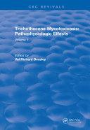 Trichothecene Mycotoxicosis Pathophysiologic Effects (1989)