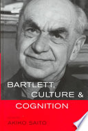 Bartlett  Culture and Cognition