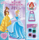 Disney Princess  Movie Theater Storybook   Movie Projector