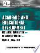 Academic and Educational Development