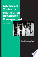 Advanced Topics In Information Resources Management Volume 2
