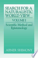 The Search for a Naturalistic World View: