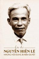 Hồi Kí Nguyễn Hiến Lê: Những Nội dung bị kiểm duyệt