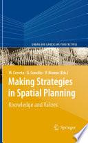 Making Strategies in Spatial Planning