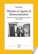 Women As Agents Of Democratisation
