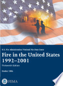 Fire In The United States 1992 2001