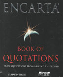 The Encarta Book of Quotations