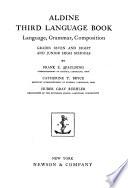 Aldine Third Language Book