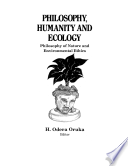 Philosophy  Humanity and Ecology