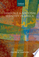 Language and National Identity in Africa