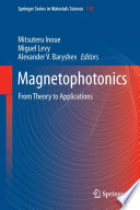 Magnetophotonics : from consideration of periodical artificial dielectric...