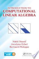 Introduction to Computational Linear Algebra