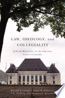 Law Ideology And Collegiality