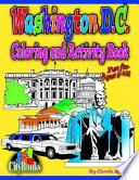Washington DC Coloring   Activity Book