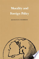 Morality and Foreign Policy