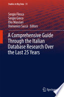 A Comprehensive Guide Through the Italian Database Research Over the Last 25 Years