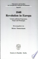 1848 Revolution in Europa