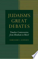 Judaism s Great Debates